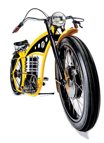 elektrische bike cruiser