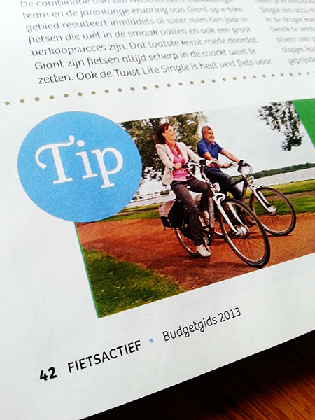 FietsActief Budgetgids 2013