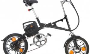 Crossfold elektrische vouwfiets