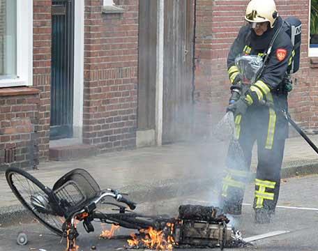 E-bike & brandgevaar - Elektrabikes.nl