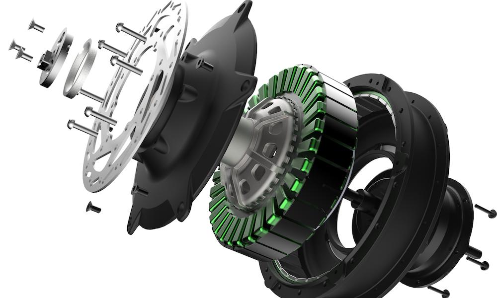 Nieuwe Achterwielmotor Met 5 Versnellingen In Sparta R 5e