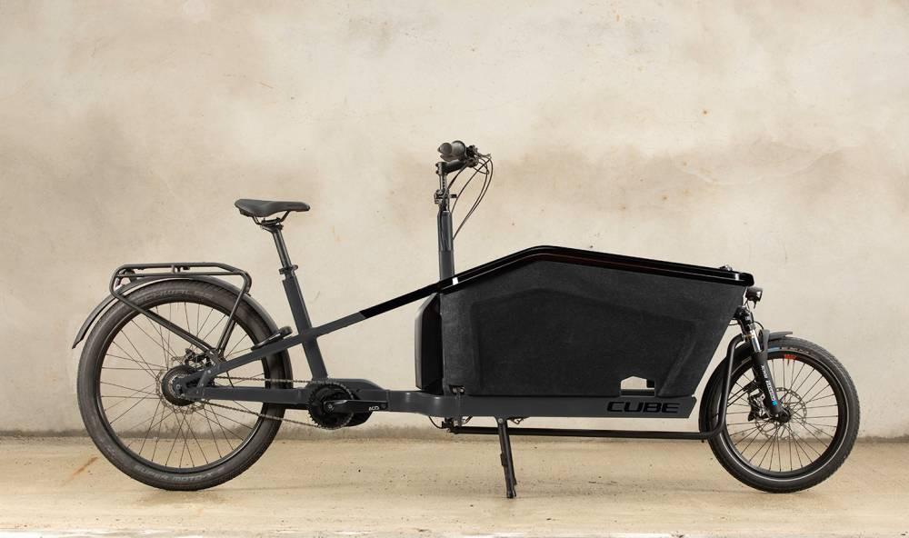 Cube Cargo Hybrid Nieuwe Elektrische Bakfiets Elektrabikes Nl